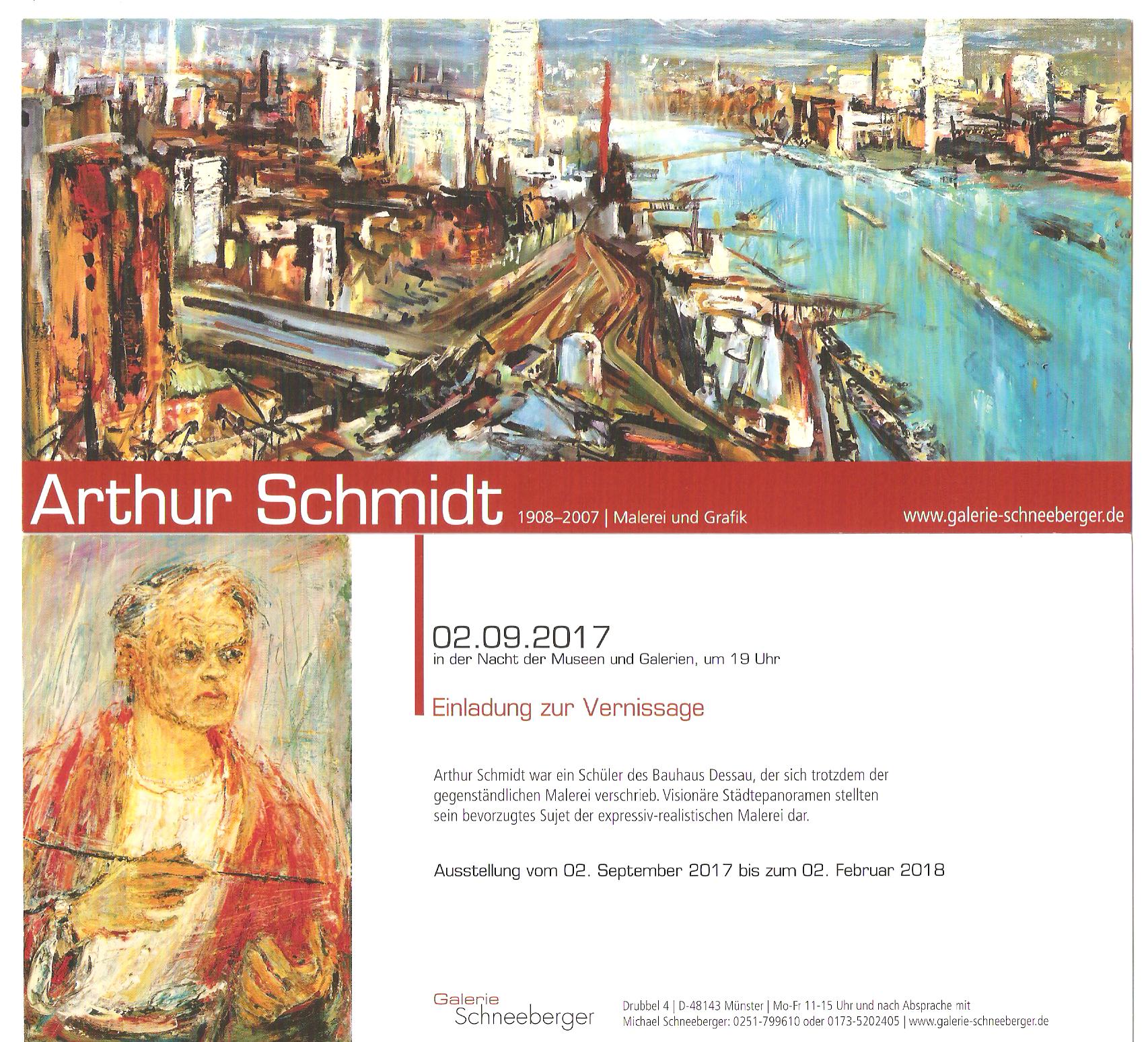Flyer Galerie Schneeberger